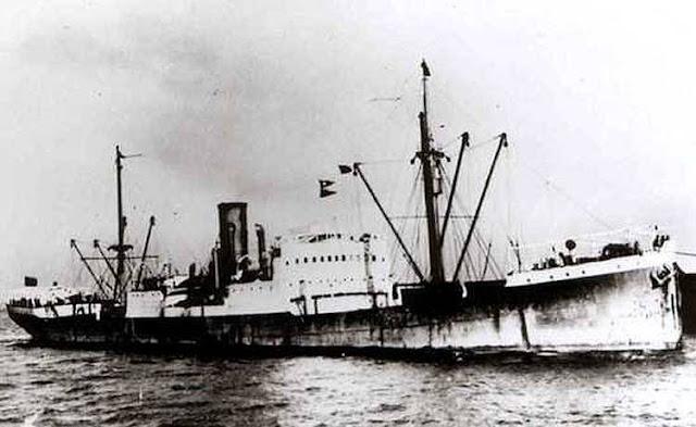 3 April 1941 worldwartwo.filminspector.com Belgian tanker Indier