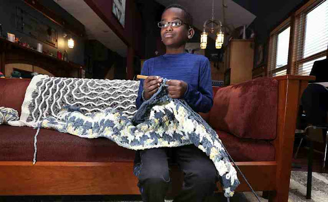 La Crosse crochet prodigy expands craft to designate support