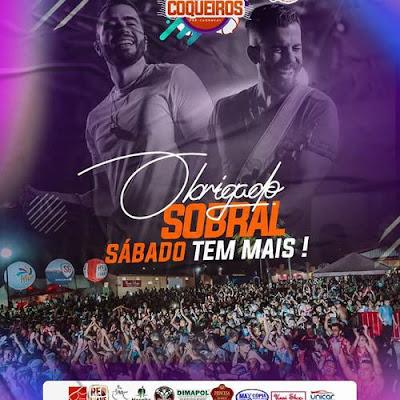 Rafa e Pipo Marques - Sobral - CE - Janeiro - 2020
