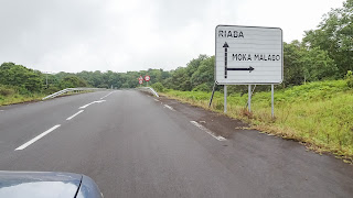 Driving through the Island of Bioko