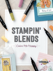 Brochure Stampin'Blends