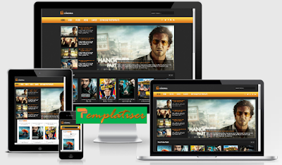 Screenshot Template Blogger Cinema - Templatiser