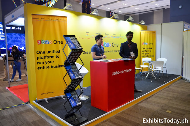 Zoho One Exhibit Booth