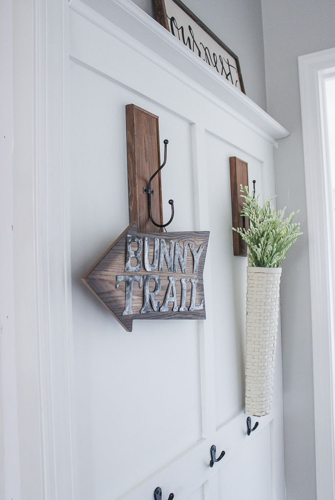 farmhouse Easter decorations