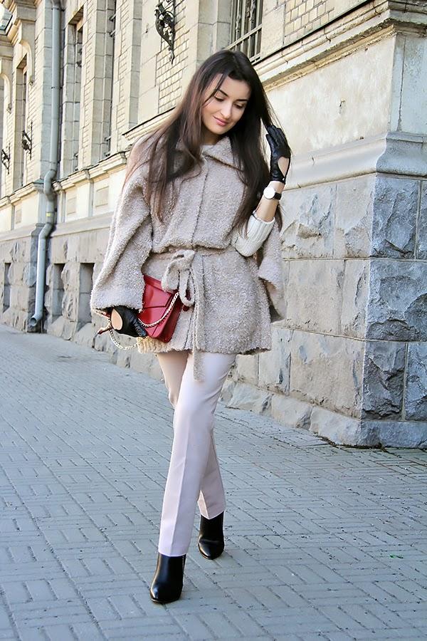 beige cape