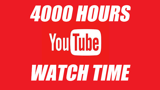 YouTube Partnership Program Requirement, 4000 Hours Watch Time