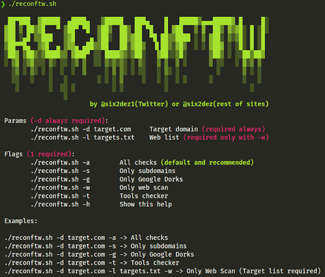 Reconftw – Simple Script For Full Recon
