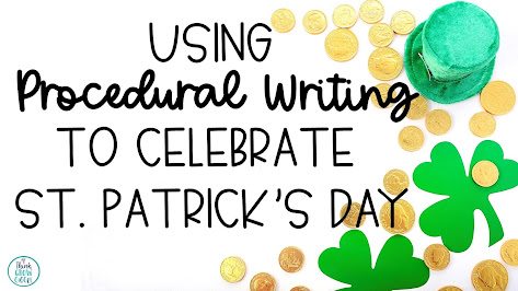 St Patricks Day writing activities