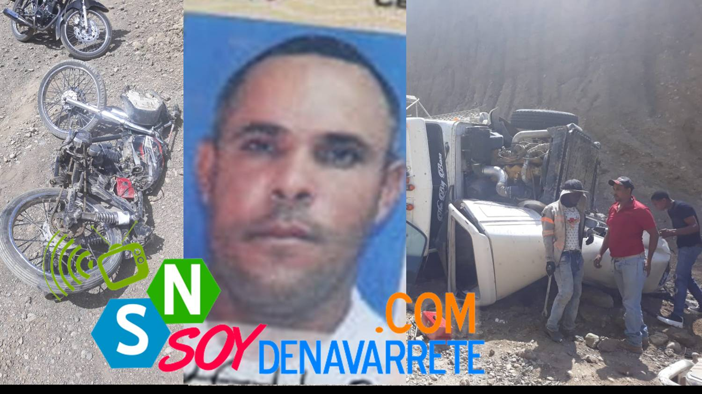 Muere hombre atropellado por un camión en Navarrete