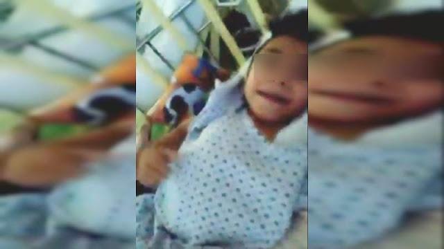 """Niño con rara enfermedad a no recibir apoyo de Gobierno ni instituciones, pide ayuda a """"El Mencho"""", líder del CJNG, para cirugía"""