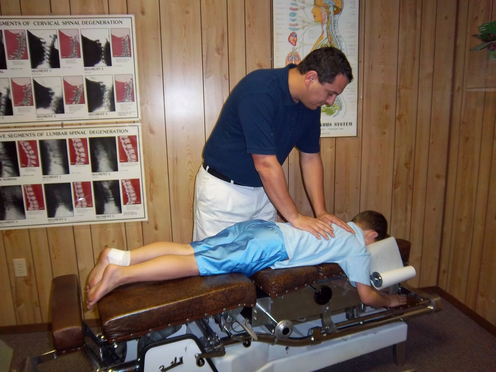 dr mcreynolds take great care to be precise and delivers unique chiropractic adjustments for each patient based on x ray analysis