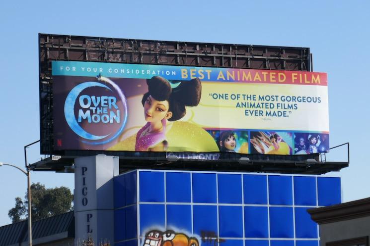 Over the Moon film FYC billboard