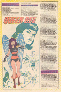 Queen Bee Ficha DC Comics
