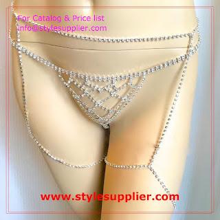 jewelry garter belt