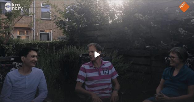 Omid Heydari en Familie Terlouw uit Moerwijk Den Haag in tv programma Met Hart en Ziel KRO NCRV.png