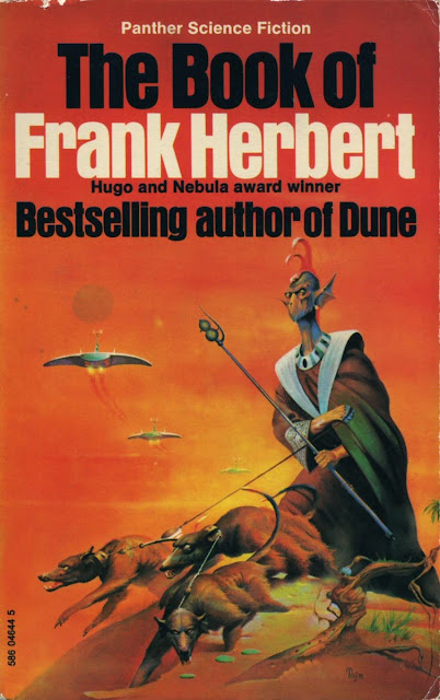 Portada de The Book of Frank Herbert (1973)