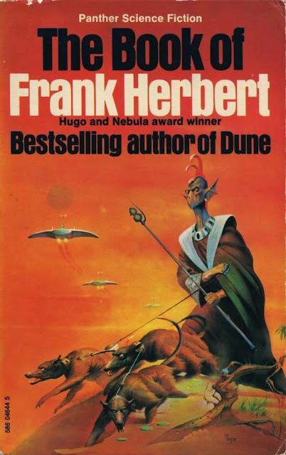 Portada de The Book of Frank Herbert (1973)