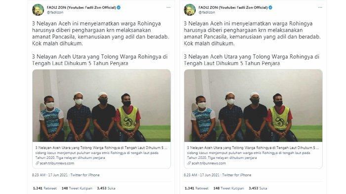 Masih Ingat 3 Nelayan Aceh yang Dipenjara Gegara Selamatkan Etnis Rohingya? Begini Kabar Terbaru Mereka