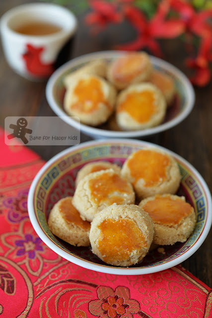 best nutty melt in the mouth Chinese almond cookies