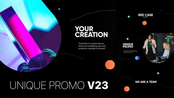 Unique Promo v23 | Corporate Presentation[Videohive][After Effects][22920261]