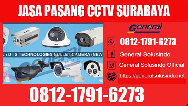 Jasa Pasang CCTV Lakarsantri Surabaya