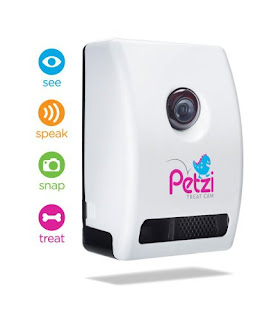OFFER Petzi Wi-Fi Pet Camera and Treat Dispenser £110,  FREE UK Delivery