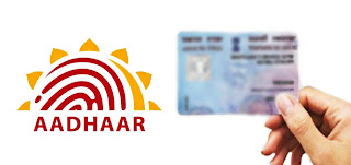 How can I Link my Aadhar card with PAN online ?