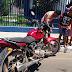 Agora Pouco: Duas motos se colidir no centro de Magalhães de Almeida.
