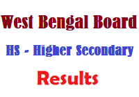 West Bengal Council of Higher Secondary Examination Results