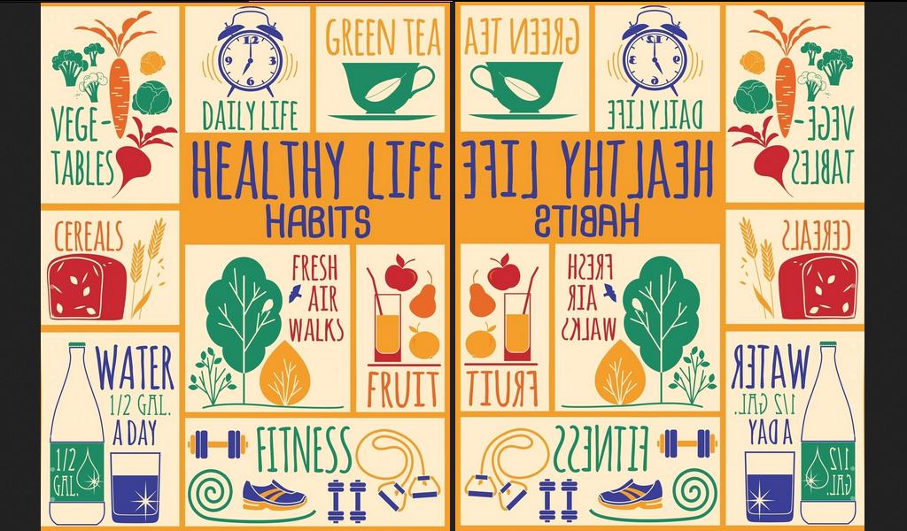 4 ideas on healthy life habits journey