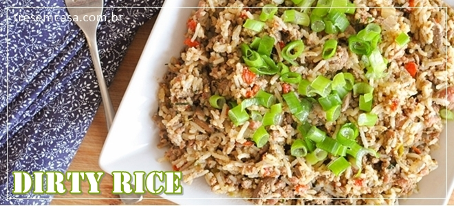 receita de arroz sujo