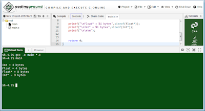 Compilador C