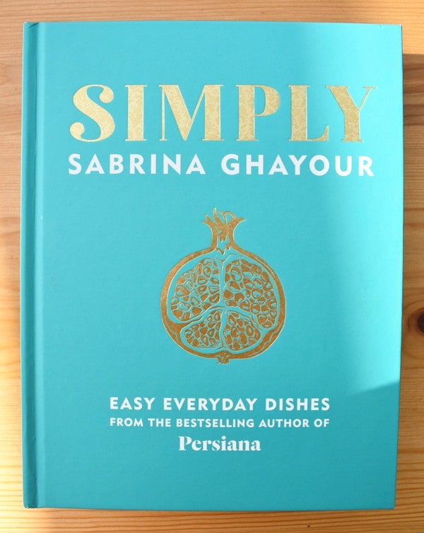 Simply by Sabrina Ghayour cookbook cover