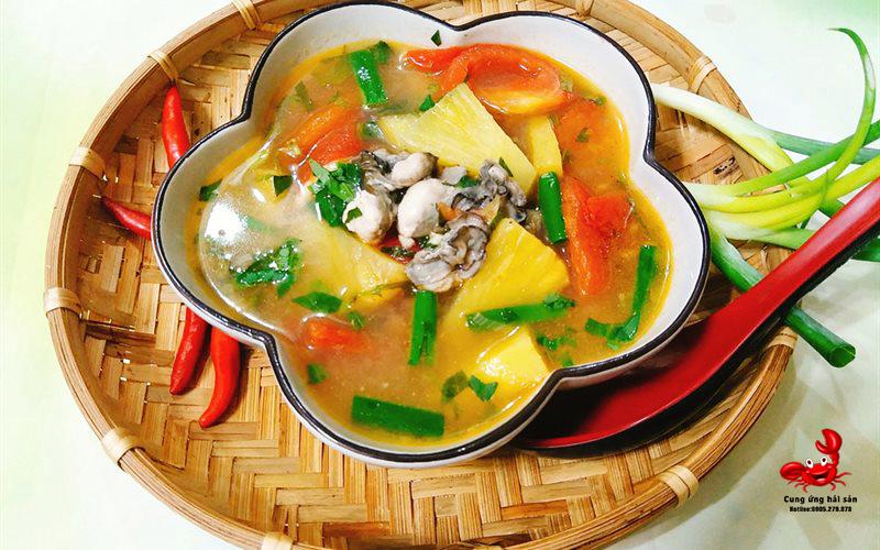 Canh chua hau ruot cung ung hai san ohavn