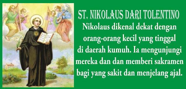 Santo Nikolaus dari Tolentino