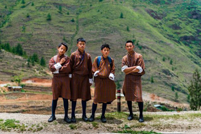 Roupas tradicionais do Butão