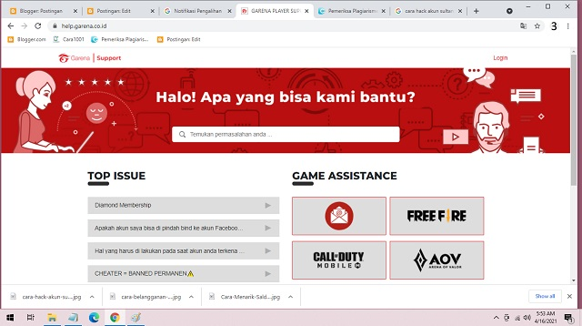Cara Hack Akun Sultan FF