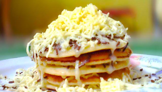 Resep membuat pancake keju spesial Lezatnya