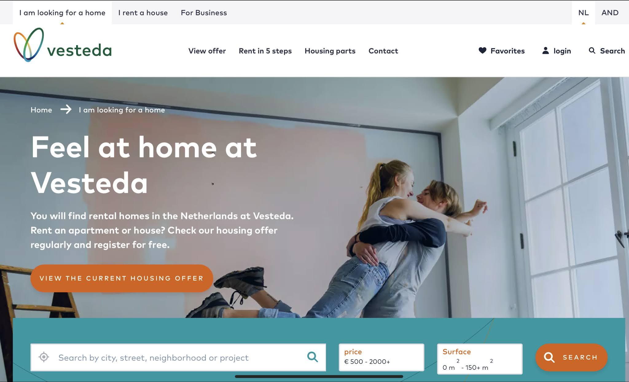 Rental Housing Netherlands BeCarol