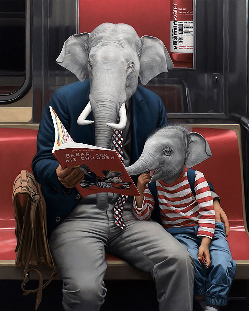 Underground Paintings By Matthew Grabelsky