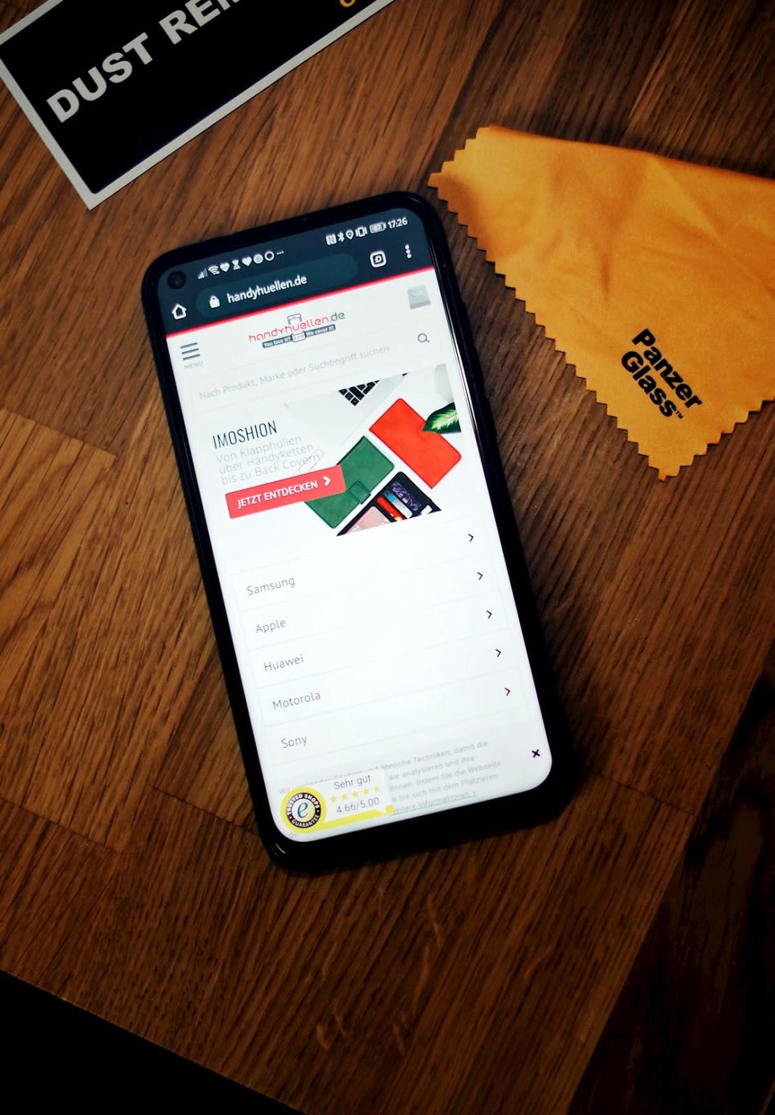 Mein Webtipp für Smartphone und Tablet Zubehör | Handyhuellen.de