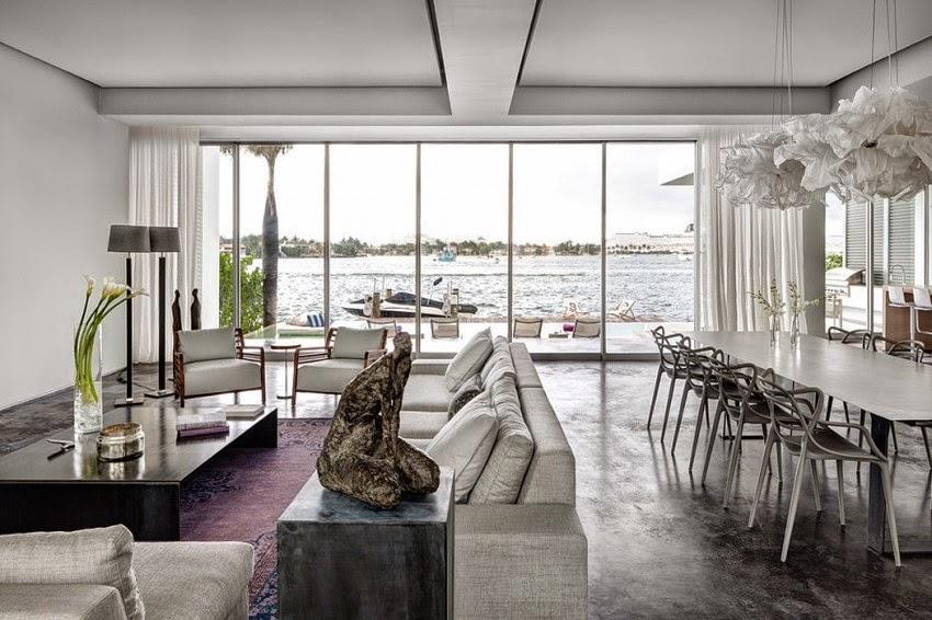 Hogares frescos casa moderna de concreto dise ada por max for Casa moderna 2014 espositori