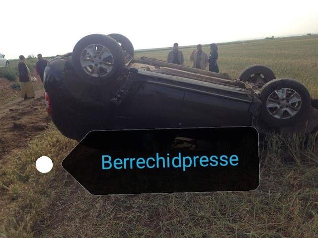 إصابة 4 أستاذات متعاقدات بعد حادث سير بإقليم برشيد