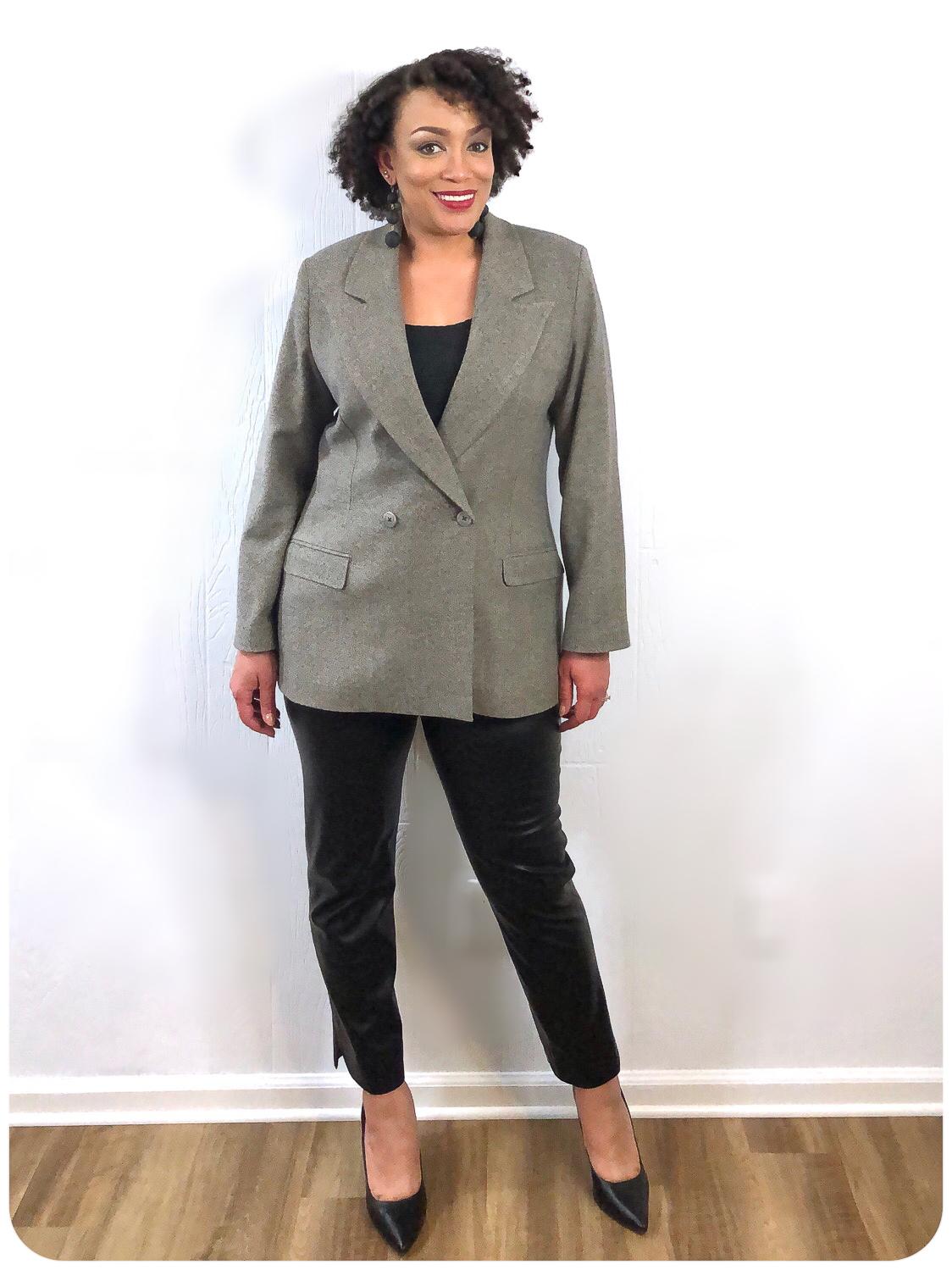 4 Ways To Be More Stylish & Fashionable - Blazer - Erica Bunker DIY Style