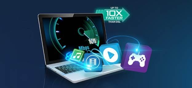 Fast and reliable internet for homes