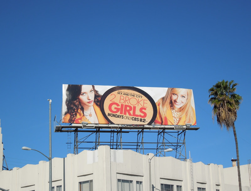 2 Broke Girls season 1 billboard