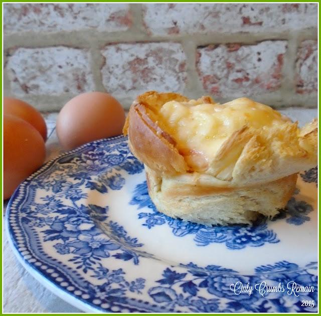 Vegetarian Croque Madame Muffins