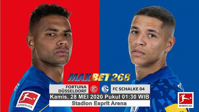Prediksi Fortuna Dusseldorf Vs Schalke 04, Kamis 28 Mei 2020 Pukul 01.30 WIB @ Mola TV