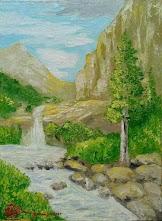 Lukisan Cat Minyak Landscape 0015
