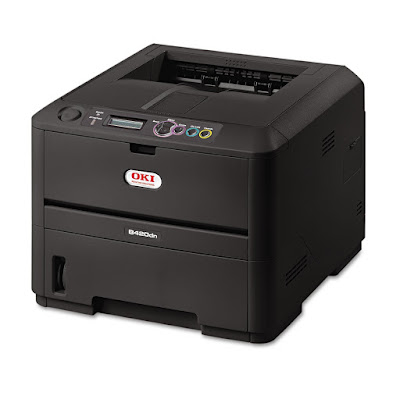 I obtained this printer as a experiment unit of measurement Oki Data B420dn Driver Download
